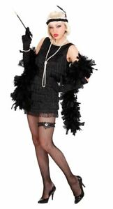 1920'S DELUXE CHARLESTON FLAPPER DRESS GANGSTER MOL FANCY DRESS - EXTRA LARGE
