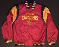 Cleveland Cavaliers Lightweight Jacket NBA Cavs GOM3449FCC UNK Men's SMALL S New