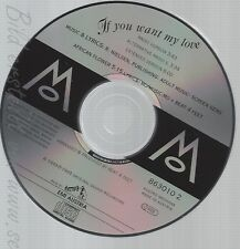CD--MO--IF YOU WANT MY LOVE