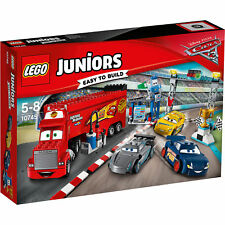 LEGO® Juniors 10745 DISNEY CARS 3  Finale Florida 500 - NEU / OVP