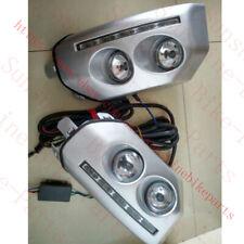 2PCS For Toyota FJ Cruiser 2007-2014 Front Fog Lamp Light Daytime Running Lights
