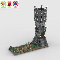 LEGO MOC PDF Instructions (NO BRICKS) - Medieval Tower
