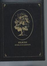 Hilburn  Heirloom Edtion  1993, Since 1758, 1740 names address HB VG Leatherette