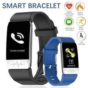 Smart Watch Fit-Bit IP67 Thermometer Health Activity Tracker Heart Sleep Sport a