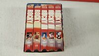 Rocky Anthology 1 2 3 4 5 VHS 2001 Tapes MGM UA Sylvester Stallone Apollo Drago