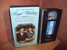 Royal Wedding -  vhs original release