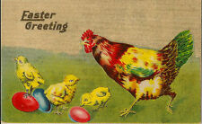 Easter Unposted Printed Collectable Greeting Postcards