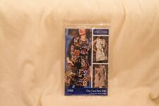 Chic Cowl Neck Shift Sewing Pattern From Indygo Junction by Amy Barickman XS-2XL