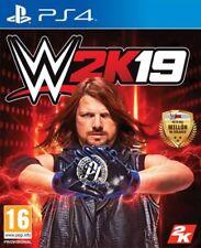 JUEGO  TAKE TWO  PLAYSTATION 4  WWE 2K19   NUEVO (SIN ABRIR)