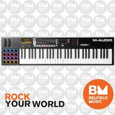 M-Audio Code 61 USB Key Controller Pads Pots Faders Midi Keyboard - Brand New