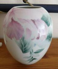 Vase porcelaine Royale SCHERZER Bavaria Germany Numéroté
