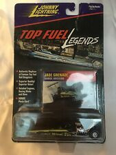 Johnny White Lightning Top Fuel Legends Green 1971 Jade Grenade Sarge Arciero