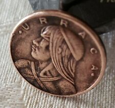 1975.  One Cent Penny Coin ( URRACA ). From Panama Rep of Panama.
