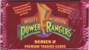 1994 Collect-A-Card Power Rangers Series 2 (Retail)