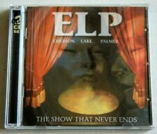EMERSON LAKE & PALMER - THE SHOW THAT NEVER ENDS 2CD (2001) BRAND NEW UNSEALED