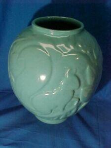 1930s COWAN POTTERY Blue SQUIRREL Design LAMP BASE Waylande GREGORY DESIGN