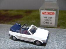 1/87 Wiking VW Golf I descapotable blanco 46