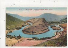 The Ox Bow On The Deschutes River Oregon USA 1939 Postcard 898a