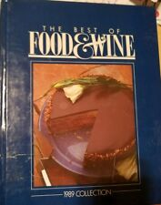 BEST OF FOOD WINE 1989 COLLECTION By Ila Stanger~Hardcover~very good condition