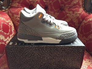 Nike Air Jordan 3 Retro (GS) B Grades 'Cool Grey' 398614-012 Size 5.5Y