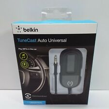 Belkin TuneCast Auto LIVE Wireless FM Transmitter/Charger (LOOK DESC.) G2700