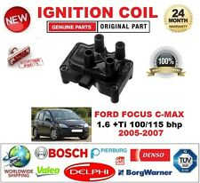 FOR FORD FOCUS C-MAX 1.6 +Ti 100/115 bhp 2005-2007 IGNITION COIL 3-PIN TYPE M4