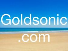 GOLDSONIC.COM - 3 4 5 Letter Business .com Website Domain Name At GoDaddy