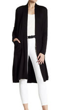 BOBEAU Elegant Fleece Long Line Cardigan (M) NORDSTROM