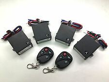 12v 4 channels on off relay remote control switch wireless key fob RM104