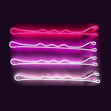"Bobby Pin Neon Sign Light Acrylic 20""x12"" Bedroom Bar With Dimmer"