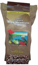 Jamaica High Mountain Coffee, Organic, Roasted Beans, 8oz Free Shipping