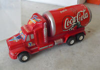 """ODD Vintage Coca Cola Can Shaped Delivery Truck 7 1/2"""" Long LOOK"""