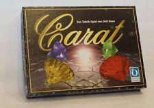 CARAT * Taktik + Denk Spiel * auch toll für 2 * D. Henn + Queen Games * RARITÄT