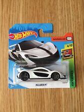 Hot Wheels McLaren P1 White