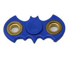 Batman symbol Fidget Spinner- Handheld Toy (Blue/ gold circles)