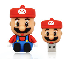 Minigz Super Mario Usb Stick 64gb Memory Keyring Pc Computer Gift Flash Nintendo