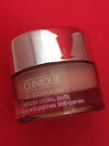 Clinique All About Eyes Cream Gel Formula 7ml travel pot new