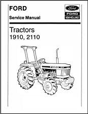 Ford 1910 2110 Compact Tractors Service Repair Shop Technical Manual