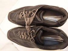 Nike US Mens 12 Sport Performance Golf Cleats Black Leather Soft 312396-001 GUC