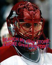 Jaroslav HALAK Montreal CANADIENS SERPEANT MASK #1 Custom LAB 8X10 New ITEM L@@K