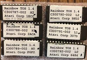 RAINBOW TOS 1.4 Atari ST/STF/STFM & Mega ST NEW 6 Chip EPROM