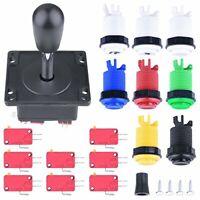 Joystick + 8 Buttons Arcade Parts Bundles Kit Set for Multicade MAME Jamma Game