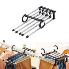 Multi-functional Stainless Steel Trousers Pants Ties Scarf Shawl Rack Hanger TP