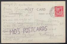 Family History Postcard - Spray - 35 Crossman Street, Sherwood, Notts  RF2374
