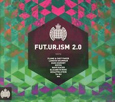 MINISTRY OF SOUND Fut.ur.ism 2.0  2CD Set Digipak Various Artists Brand New