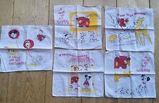 RARE vintage tissues La vache qui rit X Disney mouchoirs édition limitée 1961