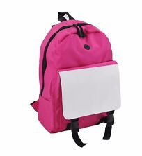 10pcs Sublimation blank diy customize Print Bag women backpack School backpacks