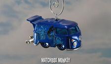 VW Kombi Bus Van Blue Meanie The Beatles Yellow Submarine Christmas Ornament T1