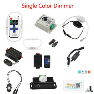 12-24V Hand Sweep Sensor/PIR/Touch LED Switch Dimmer for Single Color Led Strip