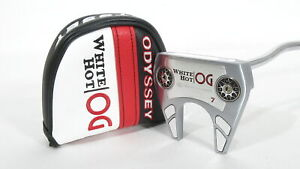 Tour Issue! '2021 ODYSSEY WHITE HOT OG #7 PUTTER w/ Stroke Lab Shaft & Tour Id#